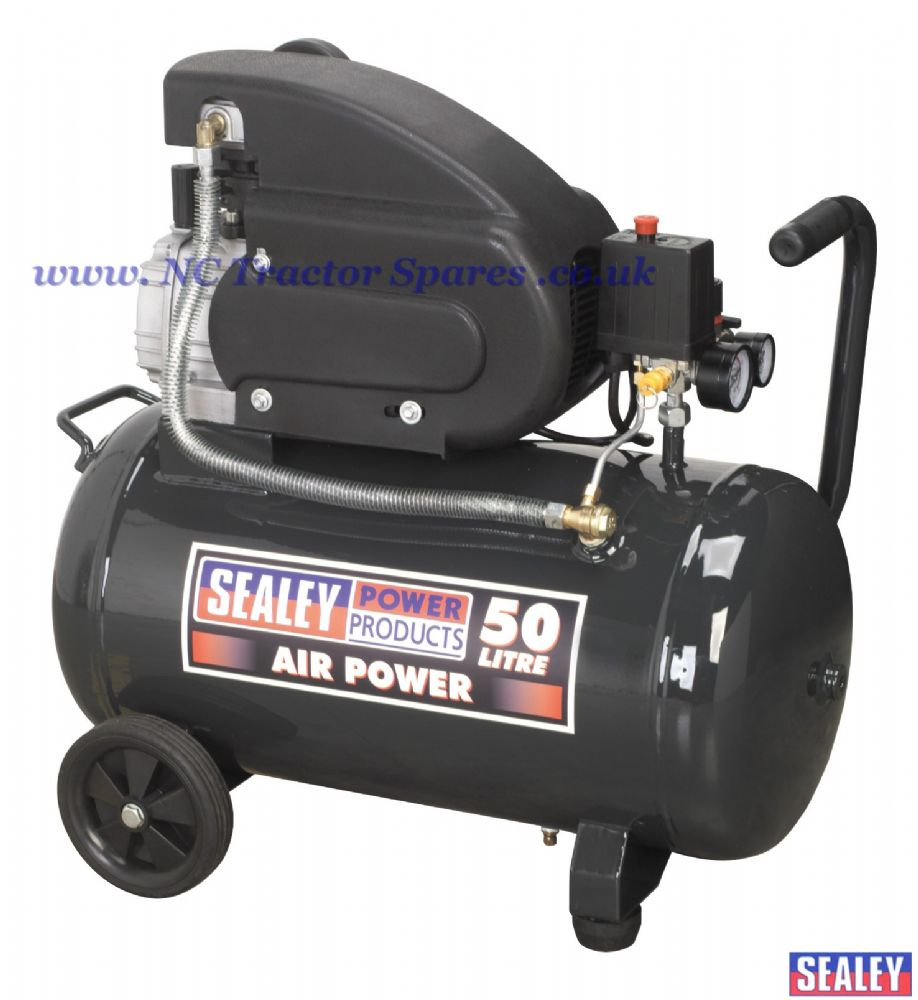 Compressor 50ltr Direct Drive 2hp.